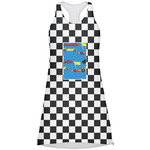 Checkers & Racecars Racerback Dress (Personalized)