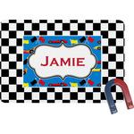 Checkers & Racecars Rectangular Fridge Magnet (Personalized)