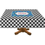 Checkers & Racecars Tablecloth (Personalized)