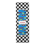 Checkers & Racecars Runner Rug - 3.66'x8' (Personalized)