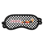 Checkers & Racecars Sleeping Eye Mask (Personalized)