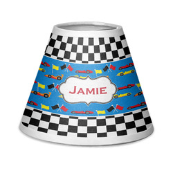 Checkers & Racecars Chandelier Lamp Shade (Personalized)