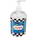 Checkers & Racecars Soap / Lotion Dispenser (Personalized)