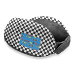 Checkers & Racecars Travel Neck Pillow