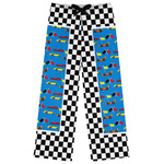 Checkers & Racecars Womens Pajama Pants (Personalized)