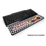 Checkers & Racecars Keyboard Wrist Rest (Personalized)