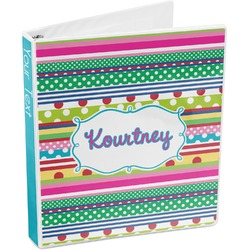 Ribbons 3-Ring Binder (Personalized)