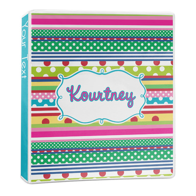 Ribbons 3-Ring Binder - 1 inch (Personalized)