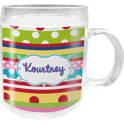 Ribbons Acrylic Kids Mug (Personalized)