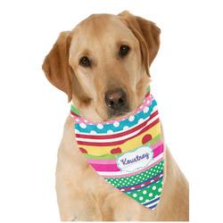 Ribbons Pet Bandanas (Personalized)