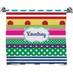 Ribbons Bath Towel (Personalized)