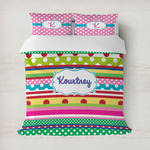 Ribbons Duvet Cover (Personalized)