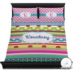 Ribbons Duvet Cover Set (Personalized)
