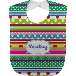 Ribbons Baby Bib (Personalized)