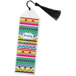 Ribbons Book Mark w/Tassel (Personalized)