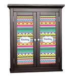 Ribbons Cabinet Decal - Custom Size (Personalized)