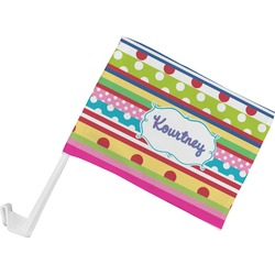 Ribbons Car Flag (Personalized)