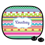Ribbons Car Side Window Sun Shade (Personalized)
