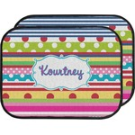 Ribbons Car Floor Mats (Back Seat) (Personalized)