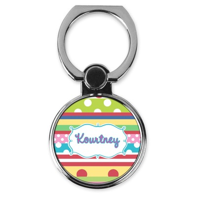 Ribbons Cell Phone Ring Stand & Holder (Personalized)