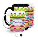 Ribbons Coffee Mugs (Personalized)