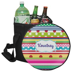 Ribbons Collapsible Cooler & Seat (Personalized)