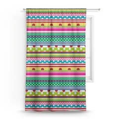 Ribbons Curtain (Personalized)