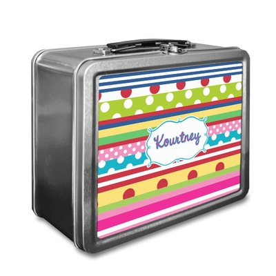 Ribbons Lunch Box (Personalized)