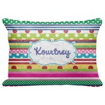 "Ribbons Decorative Baby Pillowcase - 16""x12"" (Personalized)"