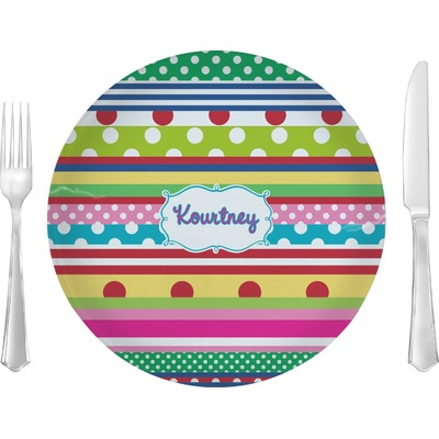 Ribbons Dinner Plate Personalized You Customize It