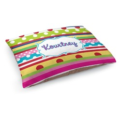 Ribbons Dog Pillow Bed (Personalized)