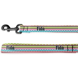 Ribbons Deluxe Dog Leash (Personalized)