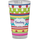 Ribbons Drinking / Pint Glass (Personalized)