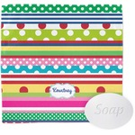Ribbons Wash Cloth (Personalized)
