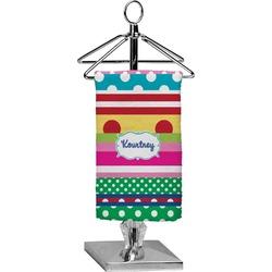 Ribbons Finger Tip Towel - Full Print (Personalized)