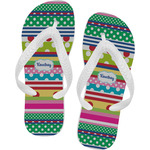 Ribbons Flip Flops (Personalized)