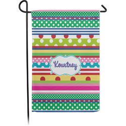 Ribbons Garden Flag - Single or Double Sided (Personalized)