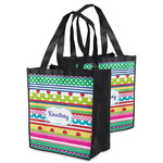 Ribbons Grocery Bag (Personalized)