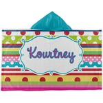Ribbons Kids Hooded Towel (Personalized)