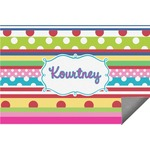 Ribbons Indoor / Outdoor Rug (Personalized)