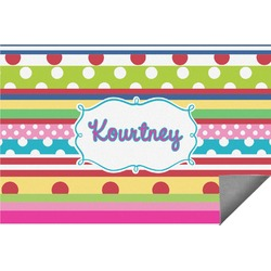 Ribbons Indoor / Outdoor Rug - 8'x10' (Personalized)