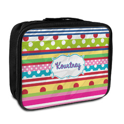 Ribbons Insulated Lunch Bag (Personalized)