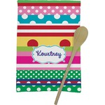 Ribbons Kitchen Towel - Full Print (Personalized)