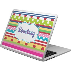 Ribbons Laptop Skin - Custom Sized (Personalized)