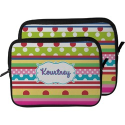 Ribbons Laptop Sleeve / Case (Personalized)
