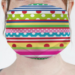 Ribbons Face Mask Cover (Personalized)