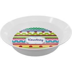 Ribbons Melamine Bowls (Personalized)