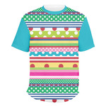Ribbons Men's Crew T-Shirt (Personalized)