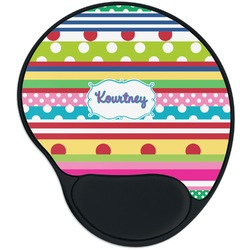 Ribbons Mouse Pad with Wrist Support