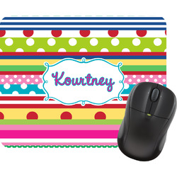 Ribbons Mouse Pads (Personalized)